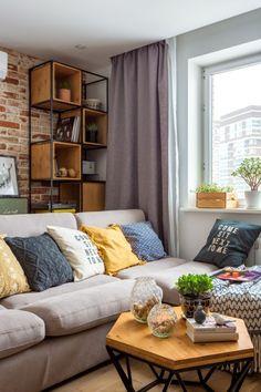 O #sofá neutro na #saladeestar facilita encontrar a paleta de #cores ideal para você. Veja mais aqui