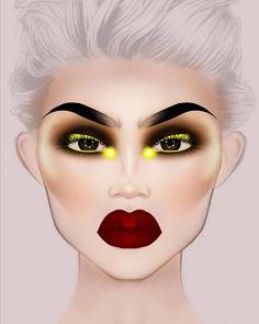 Makeup Eye Looks, Creative Makeup Looks, Sexy Makeup, Crazy Makeup, Makeup Inspo, Makeup Inspiration, Beauty Makeup, Beauty Dupes, Beauty Products