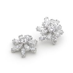 Midnight At Lido Cubic Zirconia Earrings
