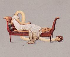 Humorous illustrations by Daniel Horowitz