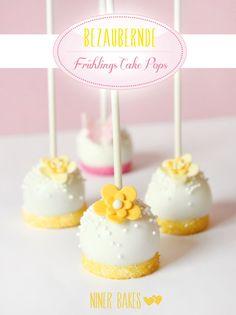 Der Frühling ruft: Einfache Blumen & Schmetterlings Cake Pops
