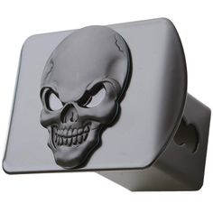 Blue Line Punisher Skull Hitch Cover Bright Hitch