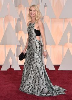 One of her best red carpet moments. Naomi Watts Oscar 2015