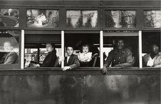 Street Car, New Orleans: 1955 by Robert Frank