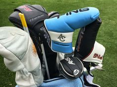 "April 2, 2014: ""Fresh new putter cover for PING Pro Angel Cabrera's Scottsdale TR Anser 2 B at the Shell Houston Open,"" said Ping Golf."