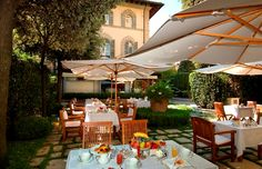 A delightful urban oasis hides away within the very heart of the city center in the Hotel Regency.  This rare and happy surprise is the perfect location for an exclusive candlelight dinner or breakfast under a Tuscan sun ….   www.regency-hotel.com