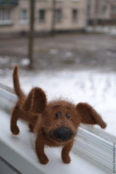 Купить Собачка для Марии в интернет магазине на Ярмарке Мастеров