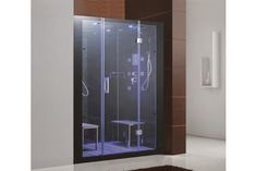Enjoy the pleasures of the Eagle Bath steam shower in your home. These units are fully loaded with a steam shower enclosure, a built-in steam generator and FM Radio which are all designed to greatly increase your therapeutic experience. Steam Shower Cabin, Steam Shower Enclosure, Metal Screen Doors, Wood Front Doors, Garage Doors, Screened Porch Doors, Magnetic Screen Door, Diy Home Decor For Apartments, Steam Showers Bathroom