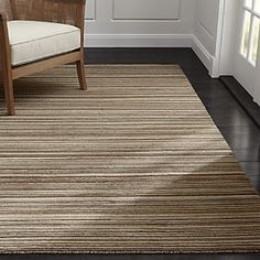 Iverson Birch Wool Rug - someday when we replace the flooring