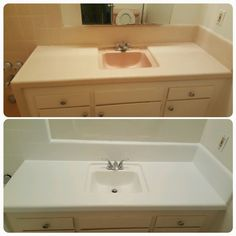Professionally done, bathtub reglazing is a cost effective solution to pastel colored rooms with tight budgets.