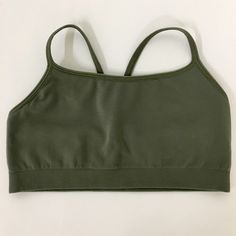 Gapbody sports bra Seamless racerback sports bra. Olive color. Never worn. GAP Intimates & Sleepwear Bras
