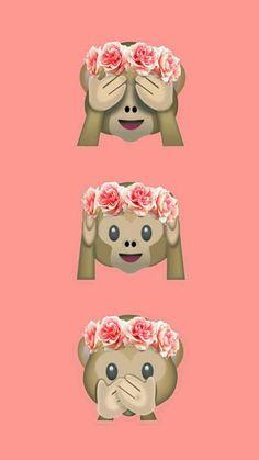 Wallpaper Iphone Monkeys Monkey Pink