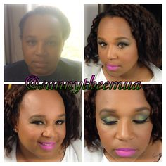 Makeup by me on my gorgeous aunt