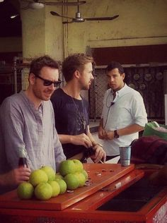Fassbender...Gosling...I want to be right there with them.