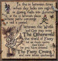 Fairies poem