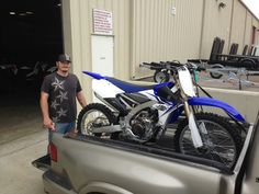 Thanks to Matthew Smith from Wiggins MS for getting a 2014 Yamaha YZ250F at Hattiesburg Cycles.