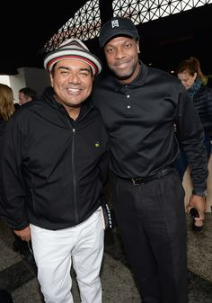 #GeorgeLopez with #ChrisTucker #TheLopezFoundation #Golf
