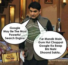 Share Funny ‪#‎Kapil‬ Sharma`s Hindi joke - http://www.trolltree.com/