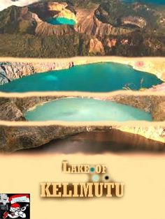 Comic Book LAKE OF KELIMUTU