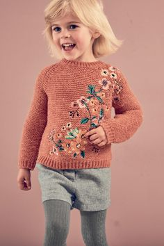 Buy Rust Floral Jumper (3mths-6yrs) from the Next UK online shop