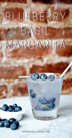 If you care to be a little more adventurous and go beyond the average Margarita, add blueberries and basil for an incredible boost of flavor.