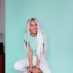 LuvYourMane's ice-storm Box braids. Source:2jam4u