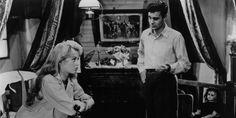 """Brigitte Bardot & Louis Jourdan in """"La mariée est trop belle"""", 1956"""