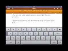 7 Trucos para el teclado del iPad