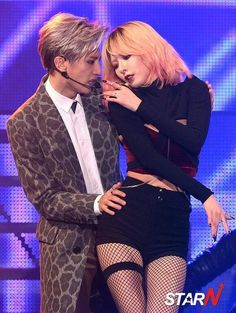 Hyuna and Hyunseung Now live Come visit kpopcity.net for the largest discount…