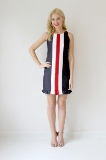 The Camilyn Beth 'Shirley' Dress in Navy.
