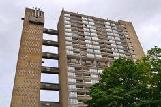 Balfron tower designed by Ernő Goldfinger