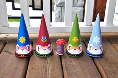 Gnome party hats by Cutesypoo on Etsy, $2.99