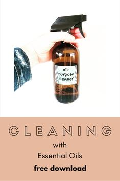 Super easy recipes to get started cleaning with essential oils + natural ingredients. Essential Oils Cleaning, Essential Oil Bottles, Essential Oil Uses, Natural Essential Oils, Essential Oil Diffuser, Natural Oils, Roller Bottle Recipes, Diffuser Recipes, Cleaning Recipes