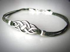 Bestseller - Sterling Celtic Knot Armband