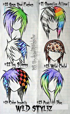 Wild Styles part 3 by Rainb0w-Rand0m.deviantart.com on @deviantART