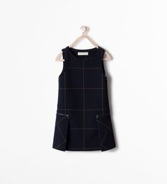 Image 1 of CHECKED PINAFORE from Zara