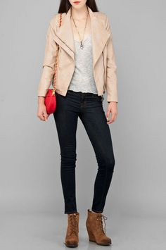 Leather or Not Jacket $108
