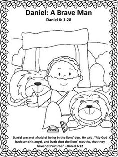 Bible Lessons for Halloween {Have No Fear} Stories, Coloring Page