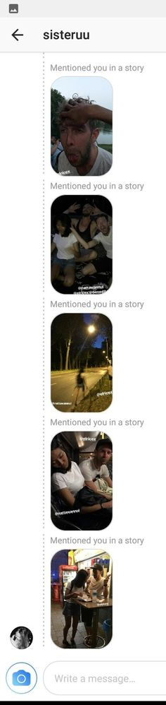 Instagram stories Instagram Story, Messages, Creative, Text Conversations