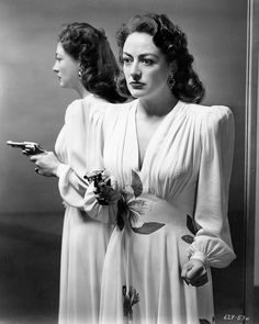 Joan Crawford in the Movie 'Mildred Pierce' Promotional Portrait