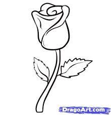 Image result for cartoon rose