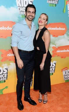 Nyle DiMarco & Peta Murgatroyd from Kids' Choice Awards 2016: Red Carpet Arrivals The Dancing With The Stars duo grace the orange carpet together and they look like they're ready for a dance number!