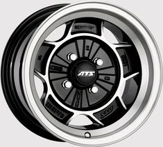 ATS Classic Black Polished alloy wheels (set of The ATS Classic Black Polished, a flat-faced design wheel for many 4 stud vehicles. Volkswagen Golf Mk2, Vw Mk1, Jdm Wheels, Truck Wheels, Rims And Tires, Rims For Cars, Car Rims, Racing Wheel, Bike Wheel