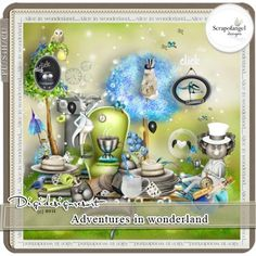 Adventures in wonderland kit by Scrapofangel Adventures In Wonderland, Alice In Wonderland, Mad Hatter Tea, Snow Globes, Tea Party, Party Themes, Paper Packs, Scrapbook, Kit