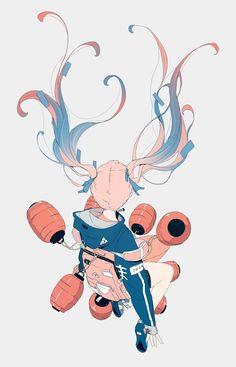 Informations About (notitle) Pin You. Art And Illustration, Fantasy Kunst, Fantasy Art, Anime Style, Anime Art Girl, Manga Art, Pretty Art, Cute Art, Aesthetic Art