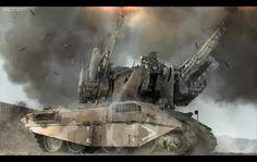 "Nuthin' But Mech Site B: ZSU-40-4 Self Propelled Anti Aircraft Gun ""Tarsier"""