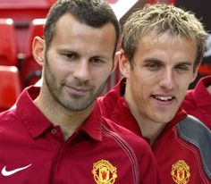 Ryan Giggs And Phil Neville Appointed As Man Utd First-Team Coaches Chris Wright, Man Utd Fc, Manchester United Images, Team Coaching, Man United, One Team, Football Team, Make Me Smile, Royals