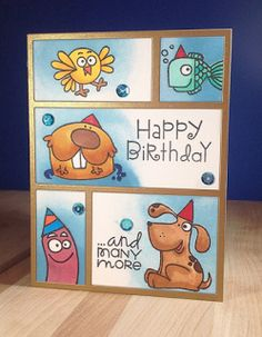 Paper Smooches SPARKS: Winnerday- September Anything Goes challenge Homemade Birthday Cards, Kids Birthday Cards, Homemade Cards, Sister Birthday, Birthday Images, Birthday Quotes, Hand Made Greeting Cards, Making Greeting Cards, Greeting Cards Handmade