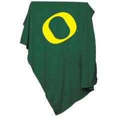 Oregon Ducks NCAA Sweatshirt Blanket Throw