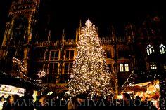 Christmas Market 2012 at Marienplatz, Rathaus